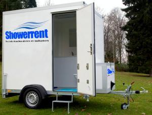 Mobiele badkamer gratis bezorgd door heel Nederland | Showerrent